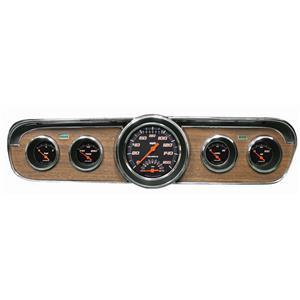 1965-1966 Ford Mustang Direct Fit Gauge Velocity Black MU65VSB35