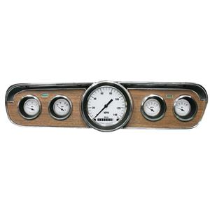 1965-1966 Ford Mustang Direct Fit Gauge White Hot MU65WH00