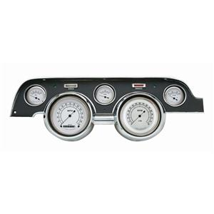 1967-1968 Ford Mustang Direct Fit Gauge Classic White MU67CW