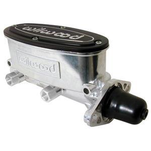 "Wilwood 1 1/8"" Tandem Aluminum Master Cylinder Polished 260-8556-P"