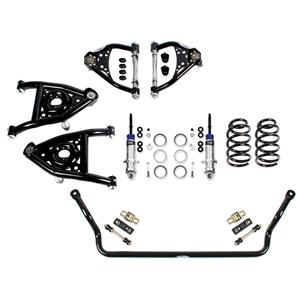 Detroit Speed Speed Kit 2 Front Suspension Kit 1973-1977 A-Body Base Shocks SBC/LS