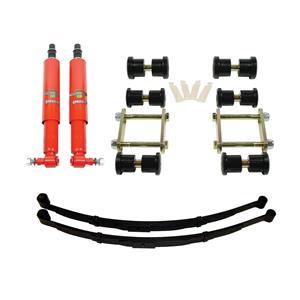 Detroit Speed Rear Speed Kit 1 Suspension Kit 2 Inch Drop Multi-Leaf 67-69 F-Body