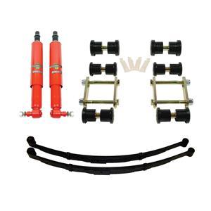 Detroit Speed Rear Speed Kit 1 Suspension Kit 3 Inch Drop Multi-Leaf 70-81 F-Body