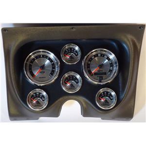 67 68 Firebird Black Dash Carrier w/Auto Meter American Muscle Gauges