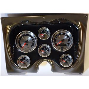 67 68 Firebird Carbon Dash Carrier w/Auto Meter American Muscle Gauges