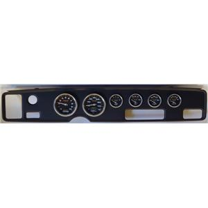 70-81 Firebird Black Dash Carrier w/Auto Meter Carbon Fiber Gauges