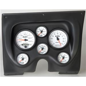 67 68 Firebird Black Dash Carrier w/Auto Meter Phantom II Gauges