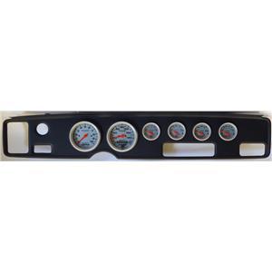 70-81 Firebird Black Dash Carrier w/Auto Meter Ultra Lite Electric Gauges