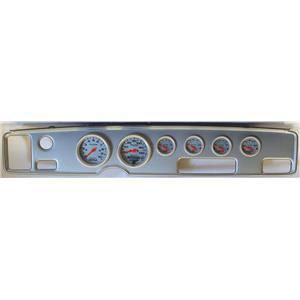 70-81 Firebird Silver Dash Carrier w/Auto Meter Ultra Lite Electric Gauges