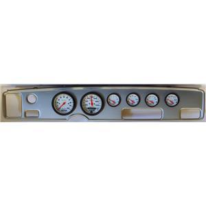 70-81 Firebird Silver Dash Carrier w/Auto Meter Phantom Electric Gauges