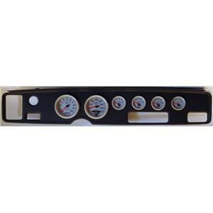 70-81 Firebird Black Dash Carrier w/Auto Meter Ultra Lite II Gauges