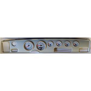 70-81 Firebird Silver Dash Carrier w/Auto Meter Ultra Lite II Gauge Gauges