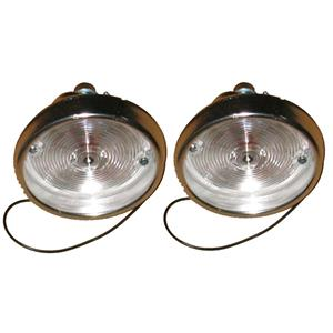 1967 Camaro Standard / SS Park Lamp Assembly (Excludes RS) Pair +  PL01-671L + R