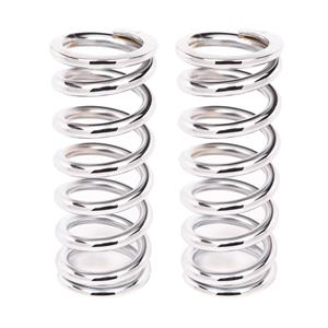 Aldan American 9-220CH2 Coil-Over-Spring44; 220 lbs. per in. Rate44; 9 in. Length - Chrome44; Pair