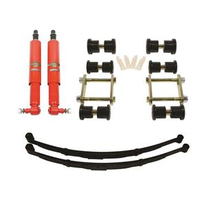 Detroit Speed Rear Speed Kit 1 Suspension Kit 3 Inch Drop Mono-Leaf 67-69 F-Body