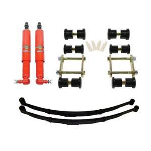 Detroit Speed Rear Speed Kit 1 Suspension Kit 2 Inch Drop Multi-Leaf 70-81 F-Body