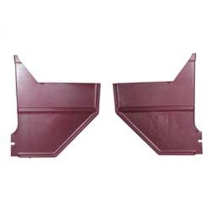 68 Ford Mustang Coupe / Fastback Kick Panel Pair Maroon KP20-68MAR