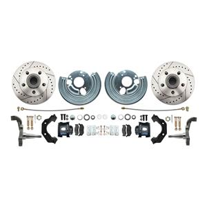 "Mopar B E Body High Performance Disc Brake Kit 11"" DS Rotor Black Caliper"