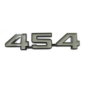 1969 Camaro 1970-1974 Nova Fender Emblem Pair 454 Engine Size EM01-454A