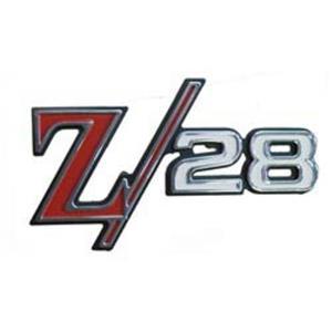 1969 Chevrolet Camaro Z/28 Rear Panel Tail Emblem EM01-690