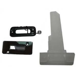 69 Camaro Bucket Seat Headrest Stem Escutcheon & Attaching Hardware Set 7 Pcs