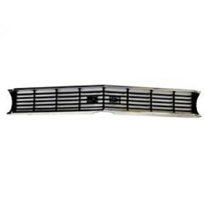 66 Chevrolet Chevelle SS Black Paint Accent Grill Grille Chevy GR03-661