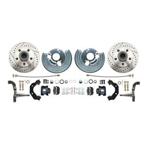 MBM-DBK6272LX- Mopar High Performance Front Disc Brake Kit 1962-72 B & E Body's