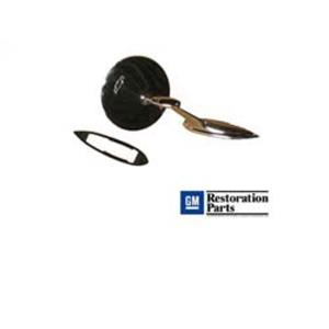 GM Round Side Rear View Mirror Outer Non-Remote Teardrop LH or RH MI02-63