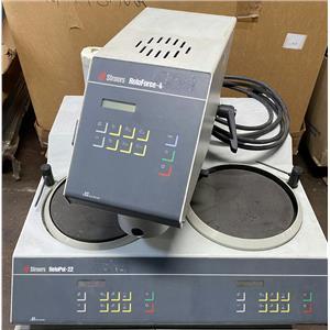 Struers RotoPol-22 Grinding / Polishing Machine with RotoForce-4 & Lupo