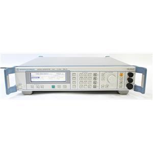 Rohde & Schwarz SML03 9kHz to 3.3GHz Signal Generator 1090.3000.13 OPT B1 B3
