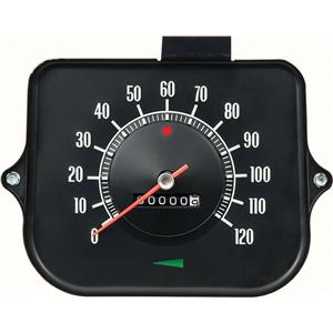 OER 1968 Chevelle Speedometer ; 120 MPH ; without Speed Warning 6492545