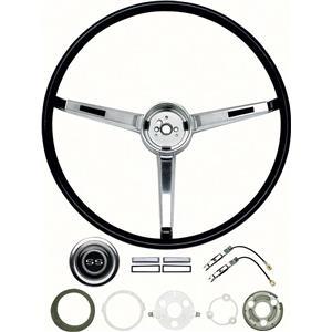 OER 1967 Chevy II / Nova Steering Wheel Kit - SS Models - Deluxe Interior *R3495