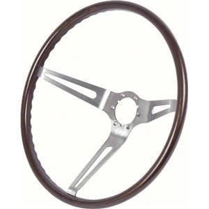 OER 1963-66 Corvette Steering Wheel -Walnut 9740603