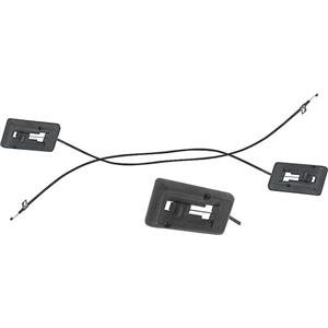 OER 1969 Camaro / Firebird Kick Panel Vent Control Cables ; with AC 3949800