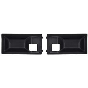 OER 70-74 Camaro, Firebird Inner Door Handle Escutcheon for Deluxe Interior - Black K486