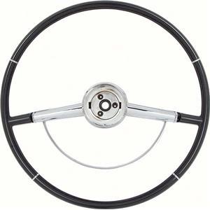 OER 1964 Impala Steering Wheel with Horn Ring - Black 9740631