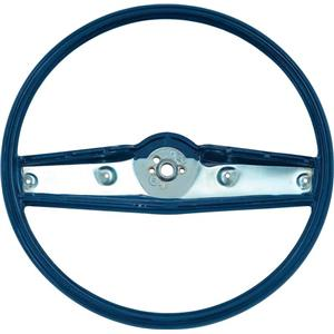 OER 1969-70 Steering Wheel - Dark Blue - Standard Interior 3939732