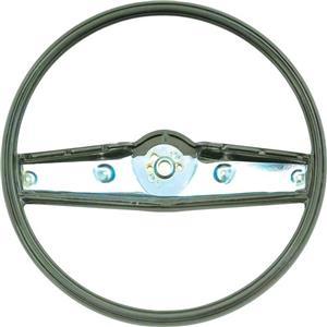 OER 1969-70 Steering Wheel - Dark Green - Standard Interior 3939735