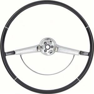 OER 1965-66 Impala Steering Wheel with Horn Ring - Black 9741875