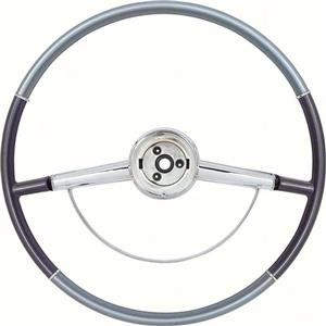 OER 1964 Impala Steering Wheel with Horn Ring; Two Tone Blue 9740630