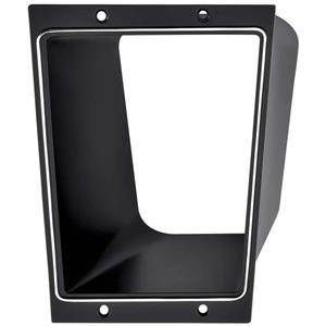 OER 1973-74 Nova Console Shift Plate and Tunnel with Standard Transmission 327549