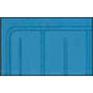 OER 62-64 Nova Medium Blue 2 Piece (Full Front Full Rear) OE Style Rubber Floor Mats M62008