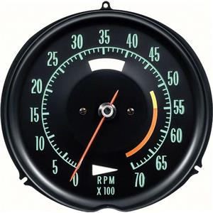 OER 1968-71 Corvette Tach 5500 Red Line 6468711A