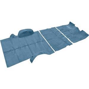 OER 1973-74 Suburban 2 Wheel Drive W/ Column Shift Blue Complete Cut Pile Carpet Set TN16103C1C