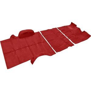 OER 1973-74 Suburban 2 Wheel Drive W/ Column Shift Red Complete Cut Pile Carpet Set TN16104C1C