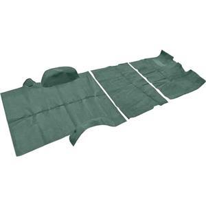 OER 80 Suburban 2 Wheel Drive W/ 4 Speed Light Jade Green Complete Cut Pile Carpet Set TN16250C3C