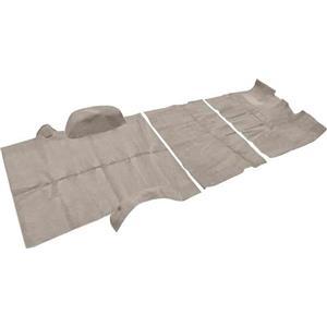OER 81-91 Suburban 2 Wheel Drive W/ 4 Speed Medium Silver Complete Cut Pile Carpet Set TN17168C3C