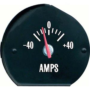 OER 1971-72 Chevelle SS / Monte Carlo Ammeter Gauge with White Markings 6473695W