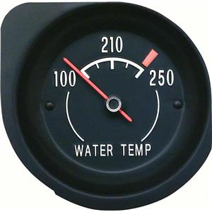 OER 1972-74 Corvette Temperature Gauge - With White Markings 6490857W