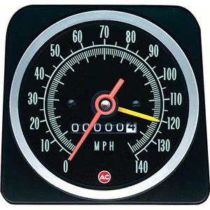 OER 1969 Copo Camaro 140 MPH Speedometer ; with Speed Warning 6492576